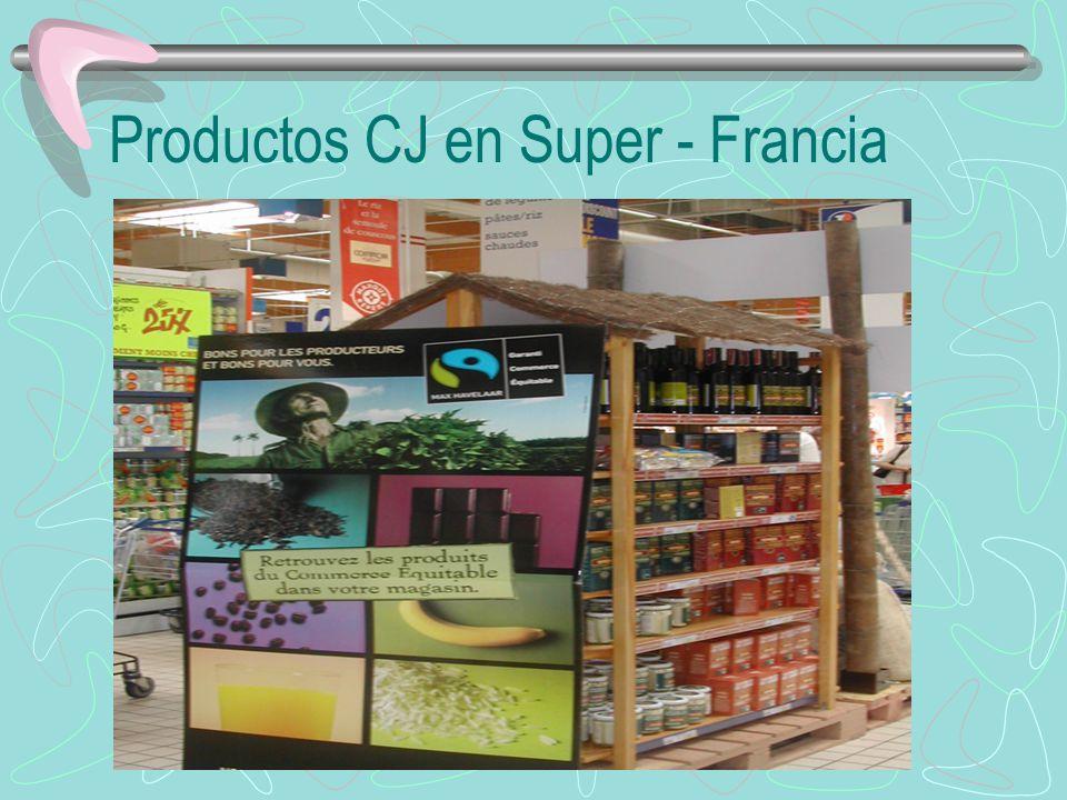 Productos CJ en Super - Francia