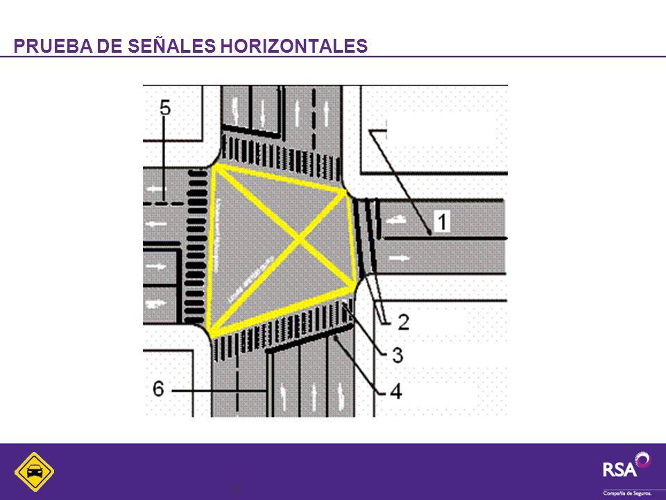 16 PRUEBA DE SEÑALES HORIZONTALES