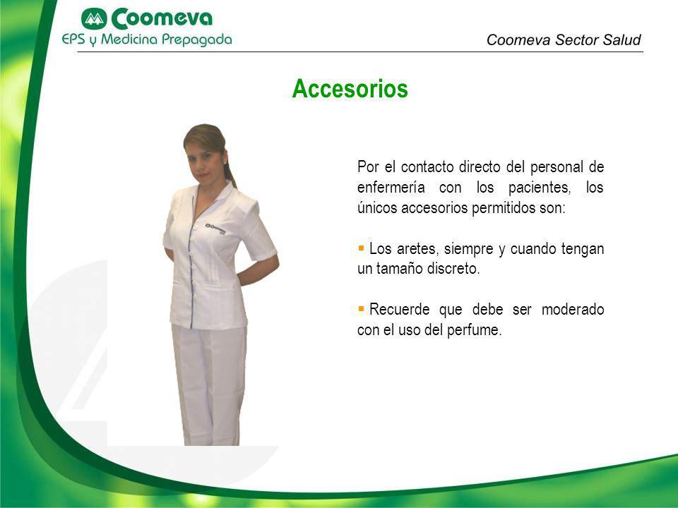 Debe ser discreto y de acuerdo al vestuario, de tal manera que permita una apariencia fresca y natural.