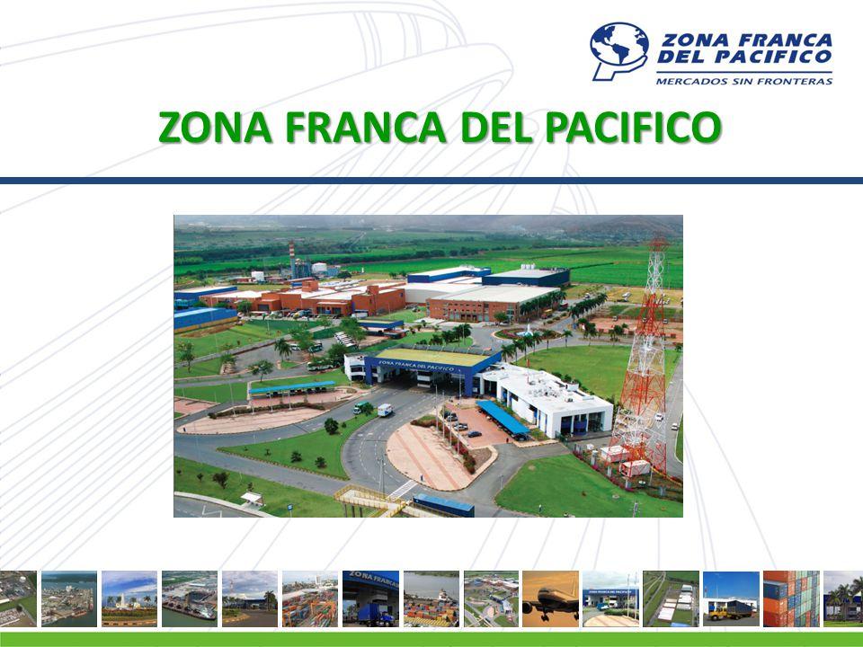 PLAN MAESTRO Declarada como zona franca en el año 1993.