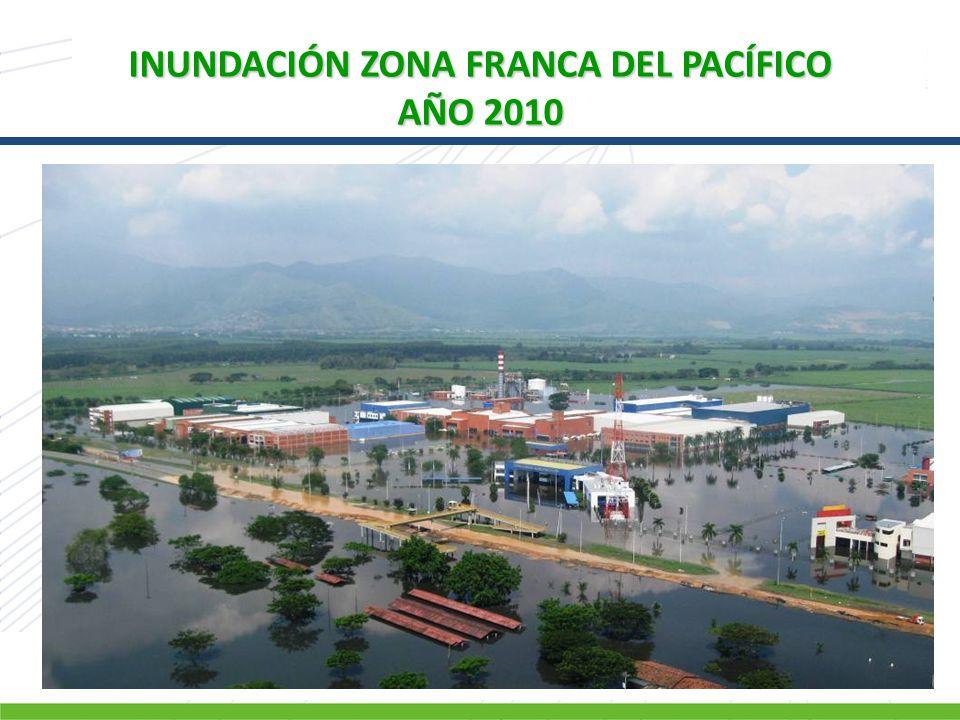 INUNDACIÓN ZONA FRANCA DEL PACÍFICO AÑO 2010