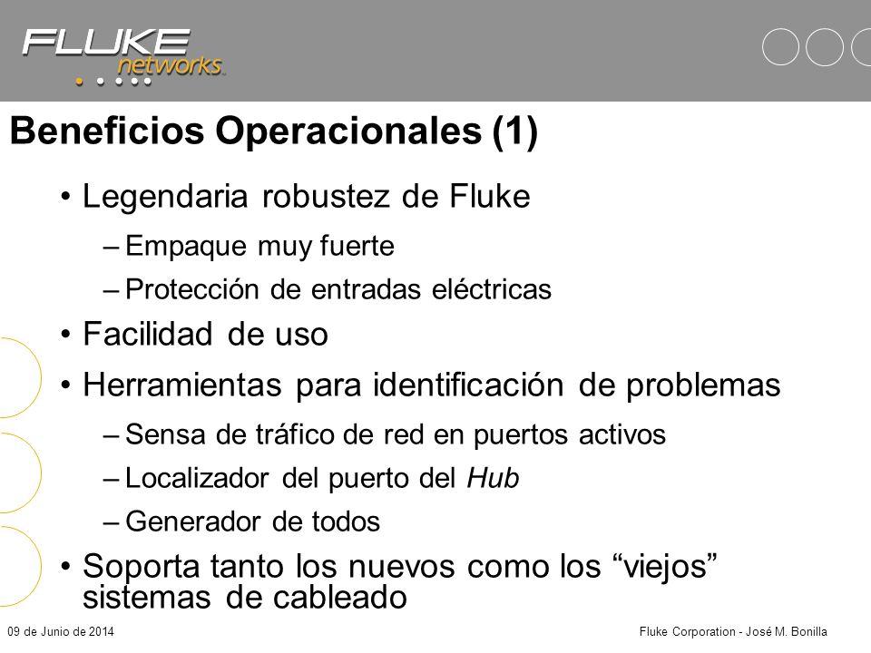 09 de Junio de 2014Fluke Corporation - José M. Bonilla Fluke DSP-4000 y 4100 CableAnalyzer Listos para el futuro!! –Cumplen con todos los estándares v