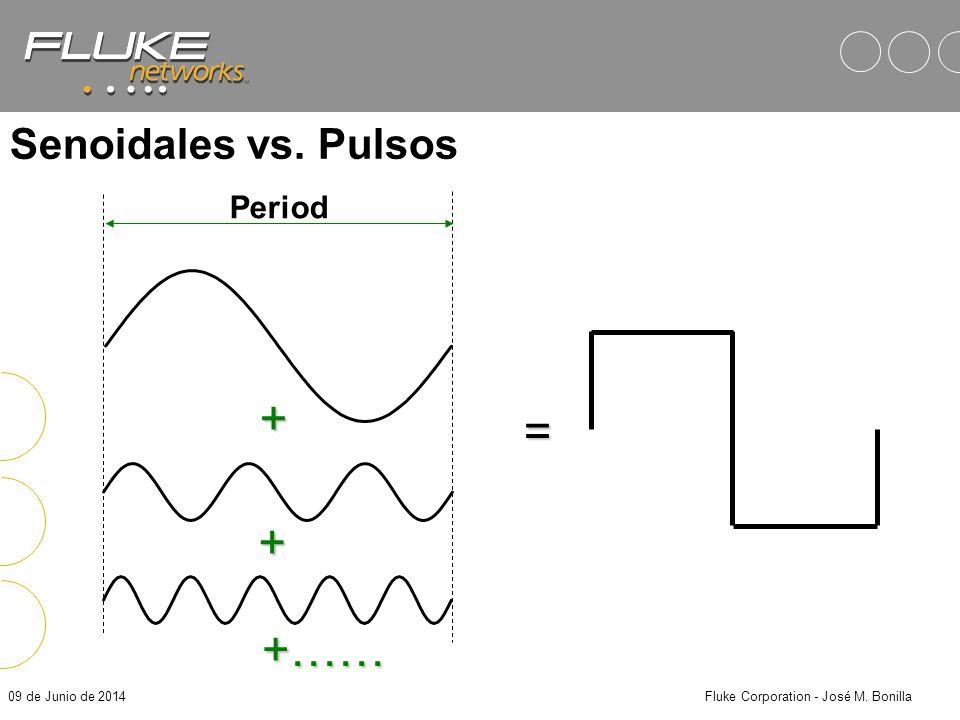 09 de Junio de 2014Fluke Corporation - José M. Bonilla 0100110100 NRZ Técnicas de Señalización Señalización Digital: Señales en el enlace de cable for