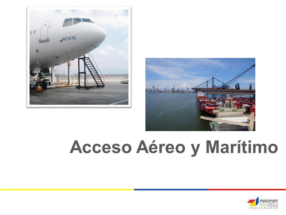 Acceso Aéreo y Marítimo