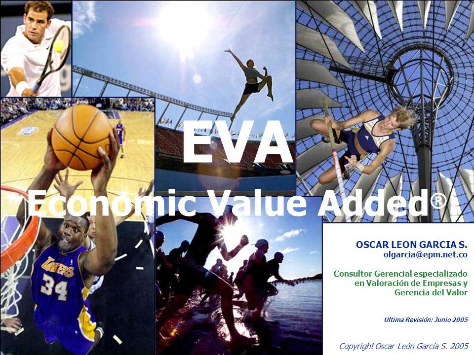 1 Copyright Oscar León García S.2005 EVA Economic Value Added ® OSCAR LEON GARCIA S.