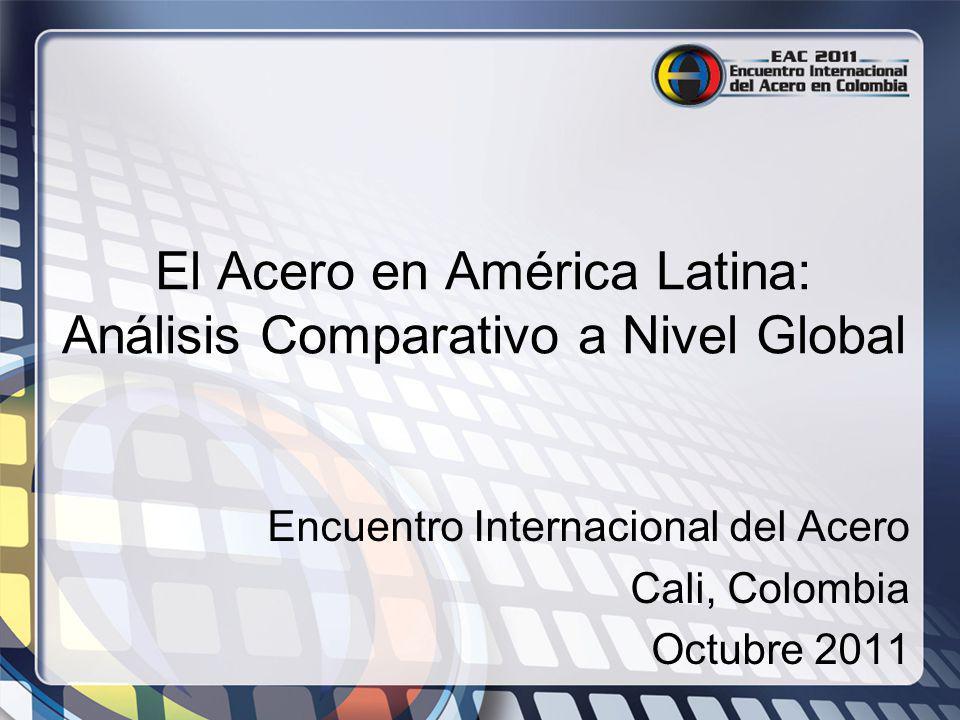 Encuentro Internacional del Acero Cali, Colombia Octubre 2011