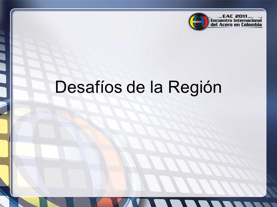 Desafíos de la Región