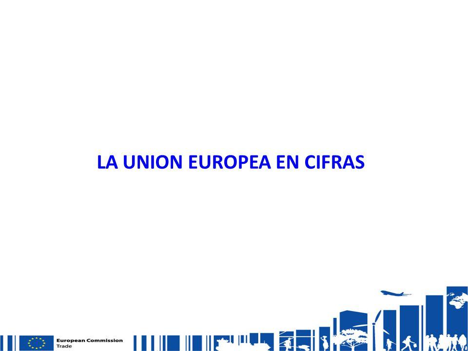 LA UNION EUROPEA EN CIFRAS