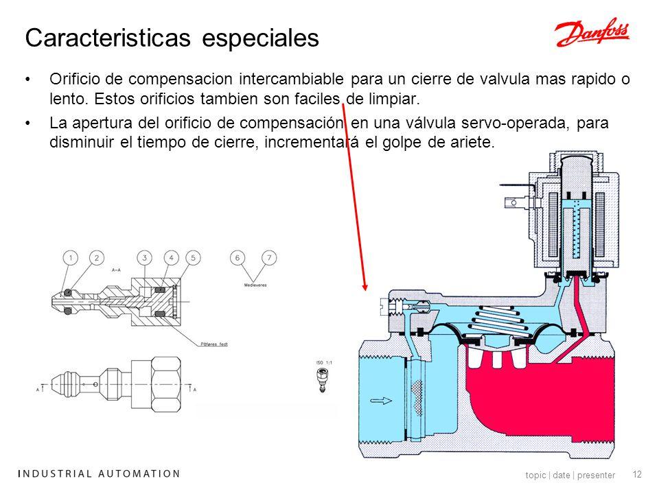 13 topic | date | presenter Válvula Servoaccionada para diámetros mayores Tamaño : 2 ½ – 3 - 4 Cuerpo de válvula: Hierro fundido Presión diferencial: 0.1 a 10 bar Sello: EPDM y NBR ( nitrilo) Solo versión con flanges Aplicación: Aire – gas- agua