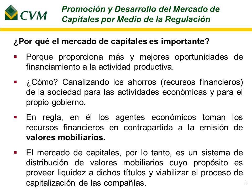 3 ¿Por qué el mercado de capitales es importante.