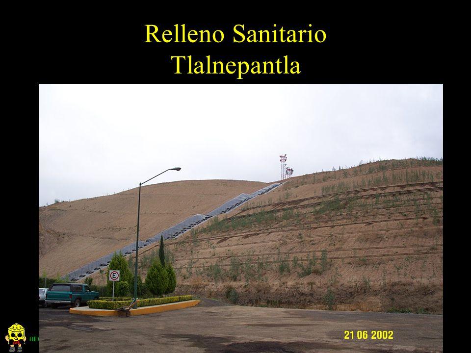 HECTOR COLLAZOS P. Ingeniero Sanitario Relleno Sanitario Tlalnepantla