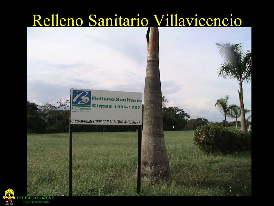 HECTOR COLLAZOS P. Ingeniero Sanitario Relleno Sanitario Villavicencio