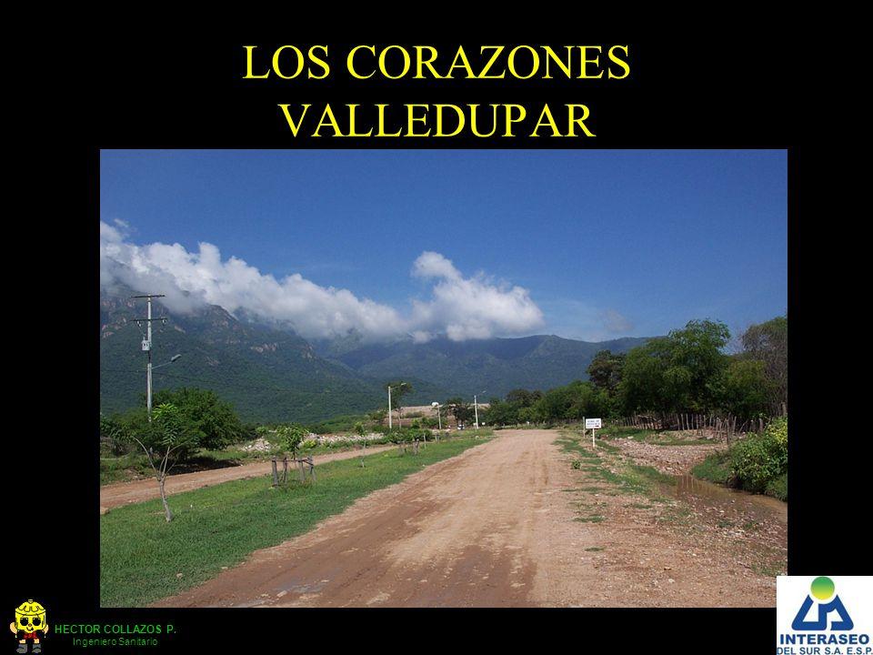 HECTOR COLLAZOS P. Ingeniero Sanitario LOS CORAZONES VALLEDUPAR