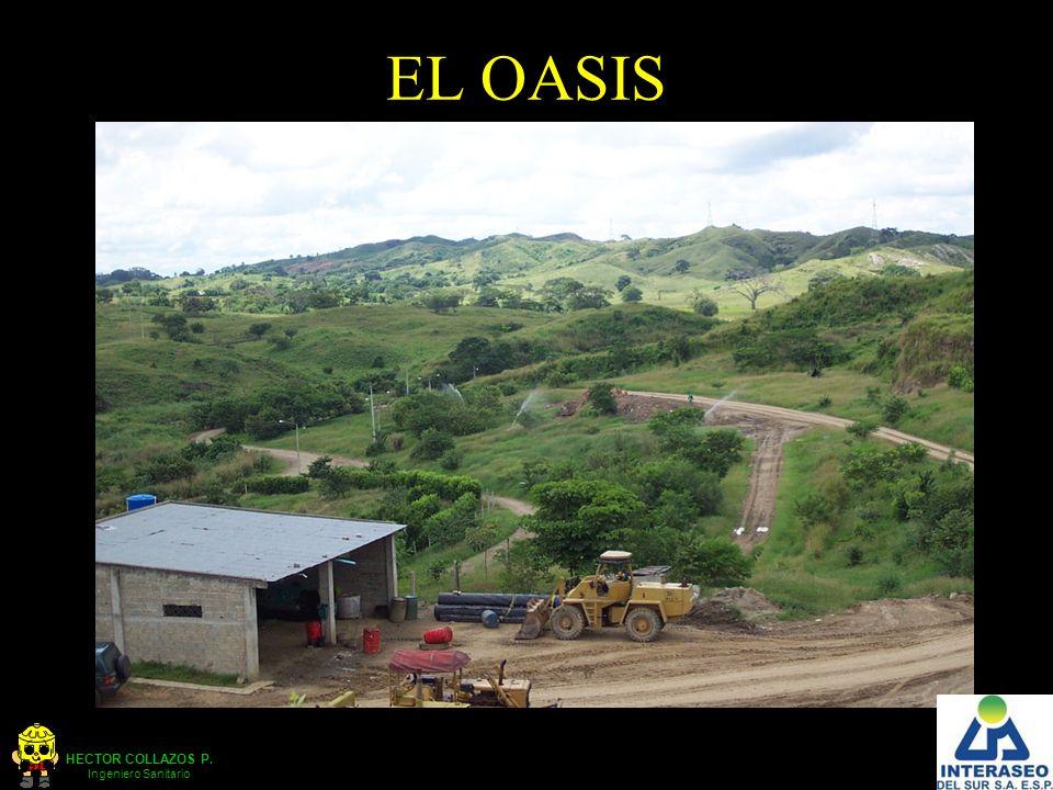 HECTOR COLLAZOS P. Ingeniero Sanitario EL OASIS