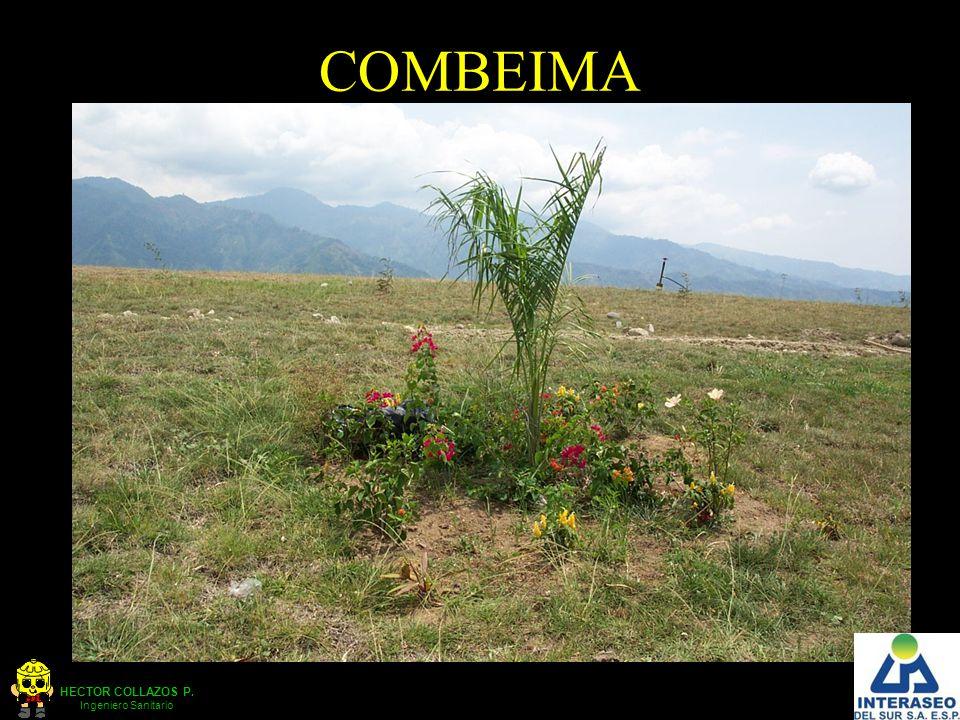 HECTOR COLLAZOS P. Ingeniero Sanitario COMBEIMA