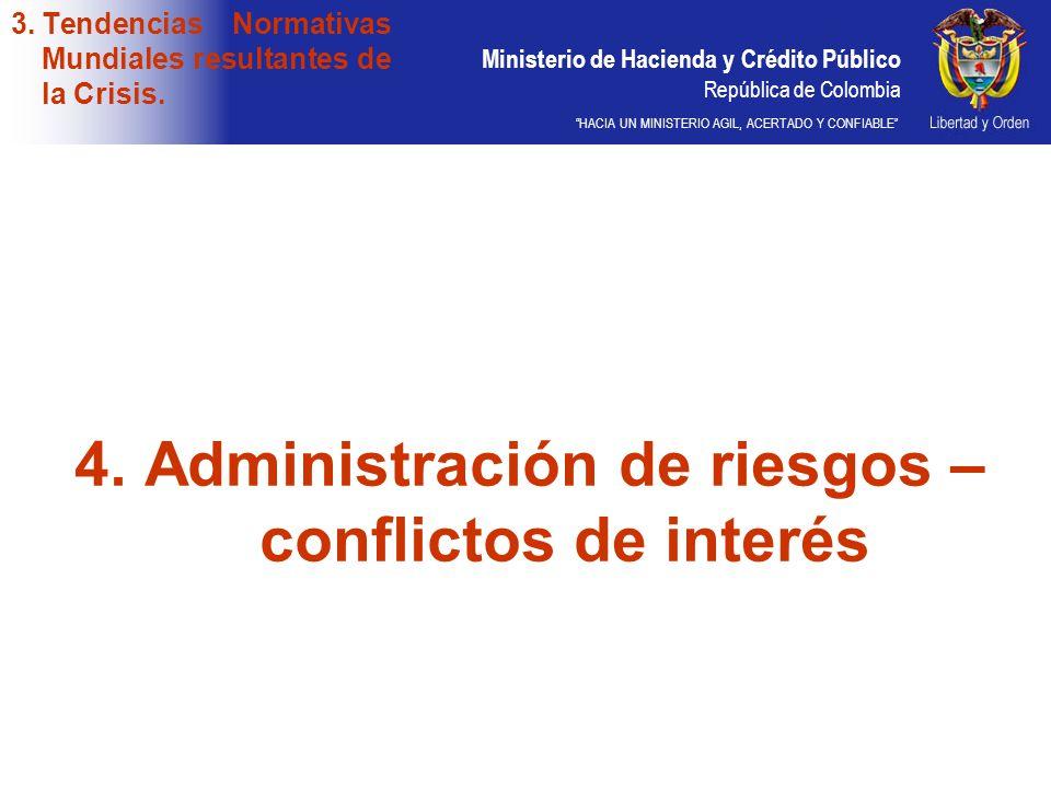 Ministerio de Hacienda y Crédito Público República de Colombia HACIA UN MINISTERIO AGIL, ACERTADO Y CONFIABLE 3.Tendencias Normativas Mundiales result