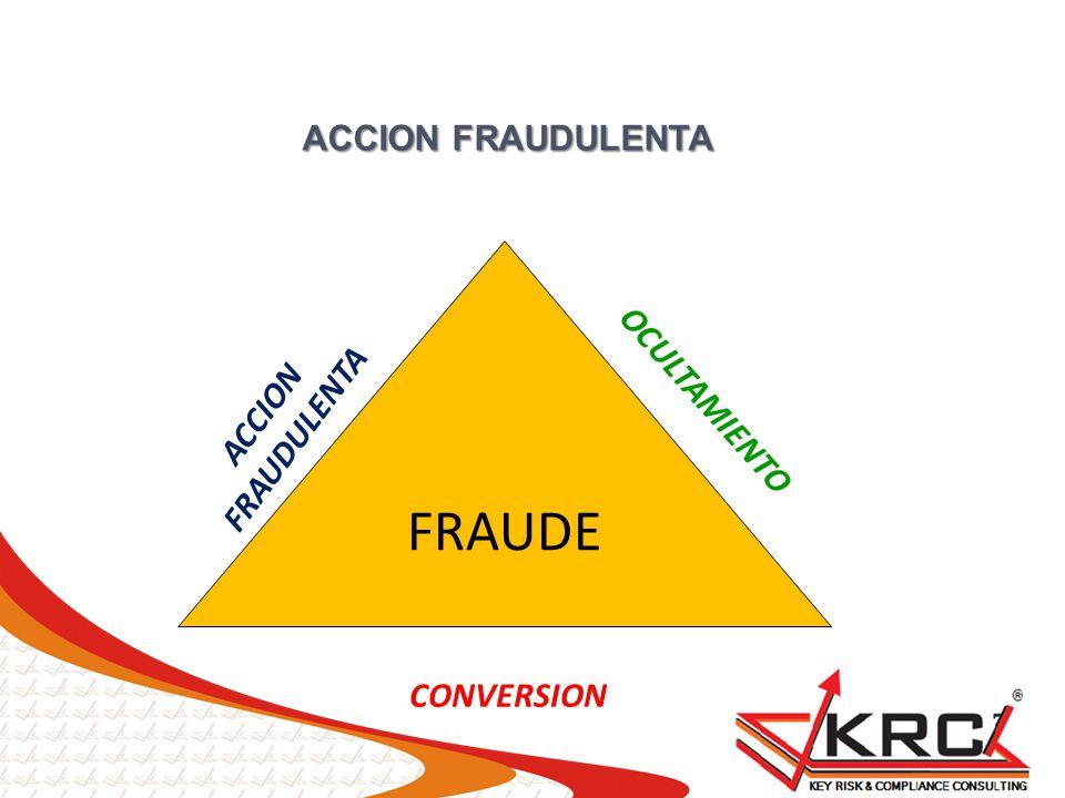 ACCION FRAUDULENTA FRAUDE ACCION FRAUDULENTA CONVERSION OCULTAMIENTO