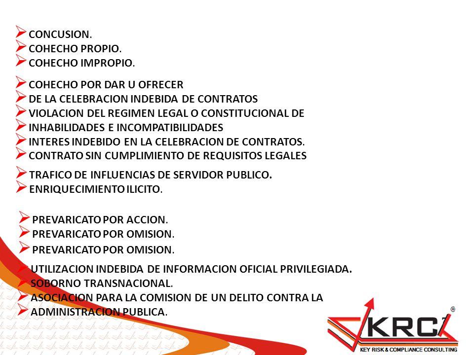 CAUSARESULTADOS IMPLEMENTACION DE AUDITORIAS PERIODICAS 69% GESTION DE RIESGOS 67% CODIGO DE ETICA Y CONDUCTA 57% LINEA ETICA/LINEA DE DENUNCIAS 44% POLITICA DE CONTRATACION 12% CAPACITACIONES EN ETICA DE NEGOCIOS 5% MECANISMOS DE PREVENCION DE FRAUDE MAS UTILIZADAS FUENTE: ENCUENTRA DE FRAUDE EN MEXICO 2010 KPMG