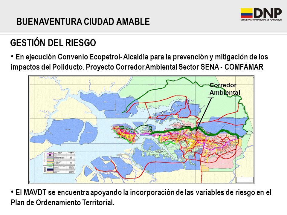 En ejecución Convenio Ecopetrol- Alcaldía para la prevención y mitigaciòn de los impactos del Poliducto. Proyecto Corredor Ambiental Sector SENA - COM
