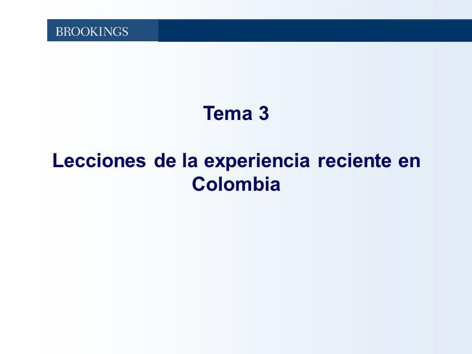 48 Tema 3 Lecciones de la experiencia reciente en Colombia