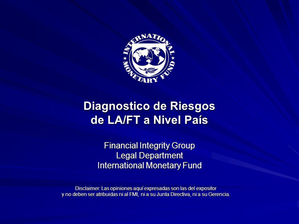 Disclaimer: Las opiniones aquí expresadas son las del expositor y no deben ser atribuidas ni al FMI, ni a su Junta Directiva, ni a su Gerencia. Diagno