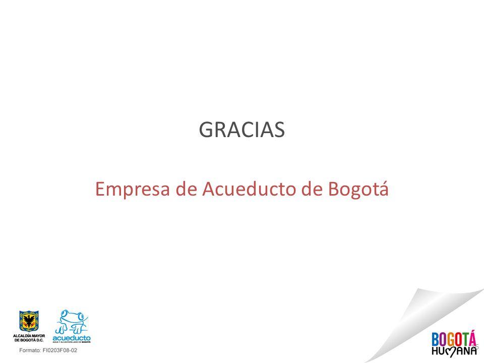 16 GRACIAS Empresa de Acueducto de Bogotá