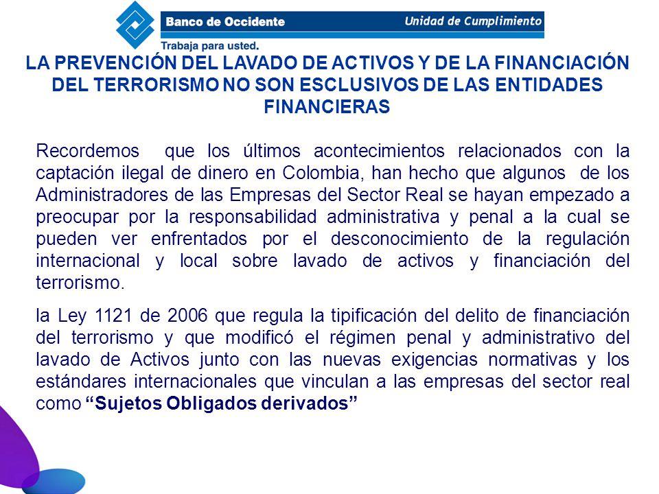 Recordemos que los últimos acontecimientos relacionados con la captación ilegal de dinero en Colombia, han hecho que algunos de los Administradores de
