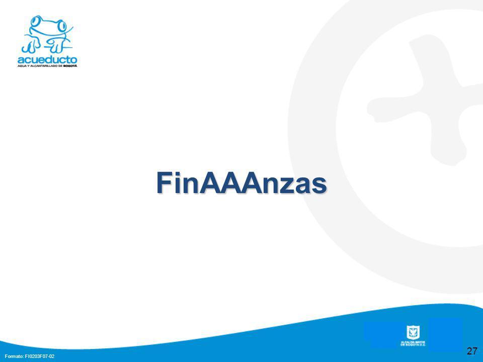 Formato: FI0203F07-02 27 FinAAAnzas
