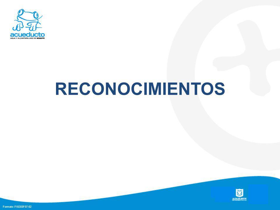 Formato: FI0203F07-02 RECONOCIMIENTOS