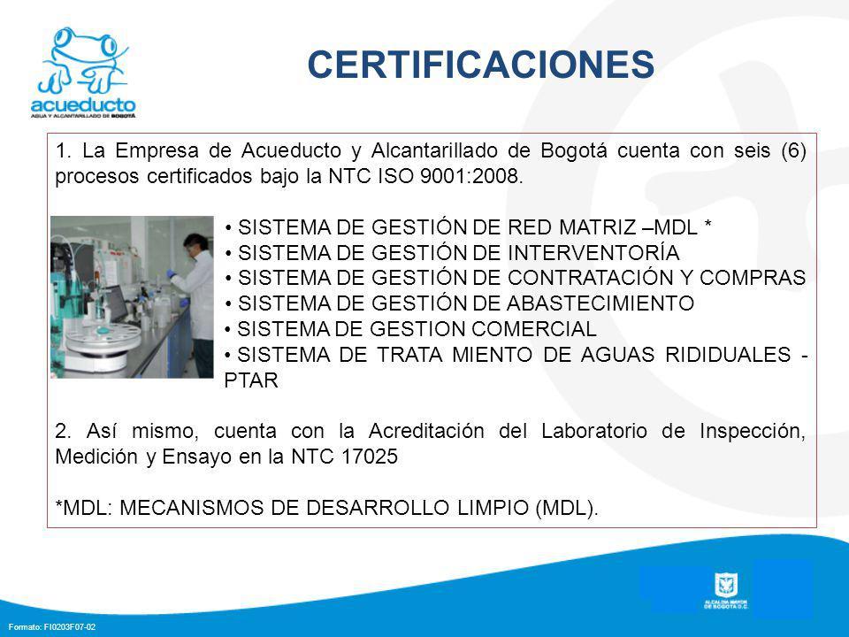 Formato: FI0203F07-02 CERTIFICACIONES 1.