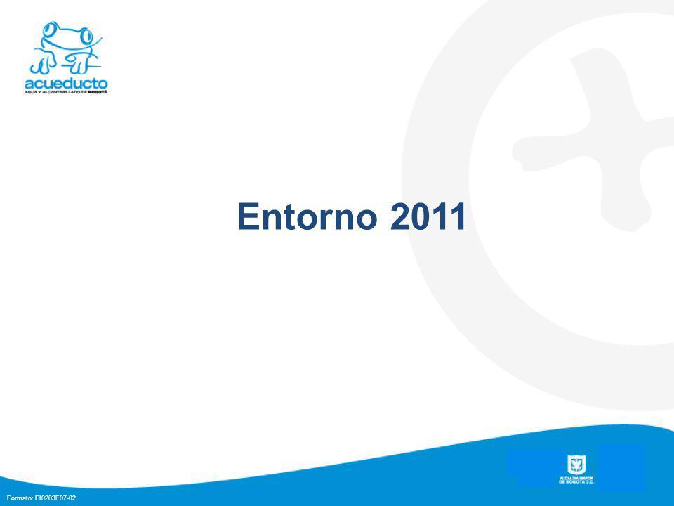 Formato: FI0203F07-02 GESTION OPERACIONAL ** Metodología 12 meses (volumen facturado en 12 meses de lectura).