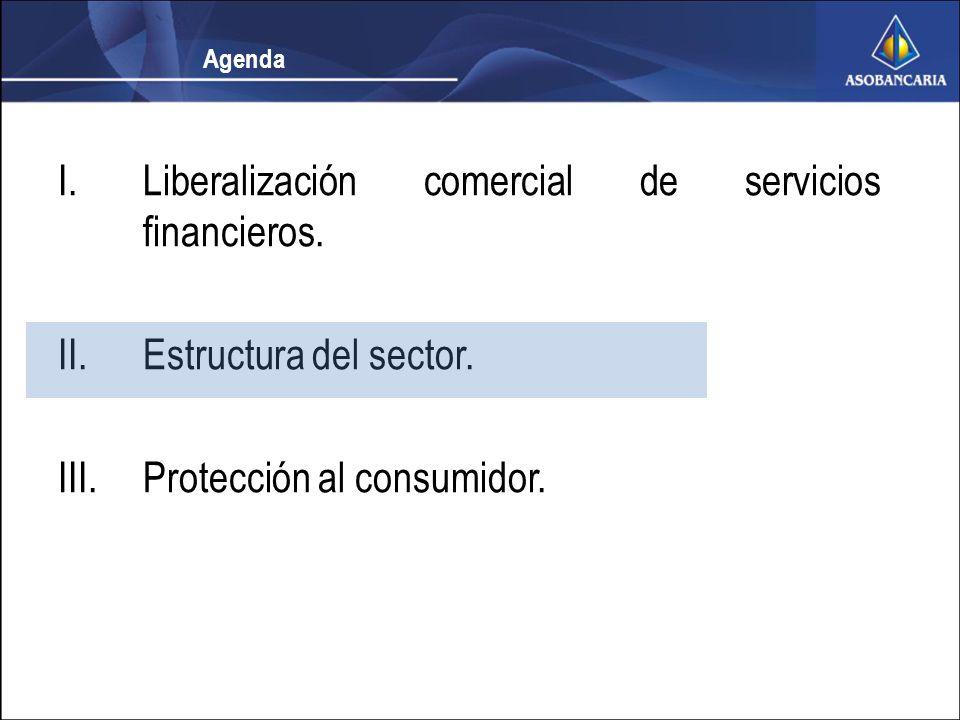 Estructura del sector La Reforma autoriza a los bancos a prestar dos nuevos servicios : 1.Leasing 2.Otorgamiento de crédito para adquisición de empresas.