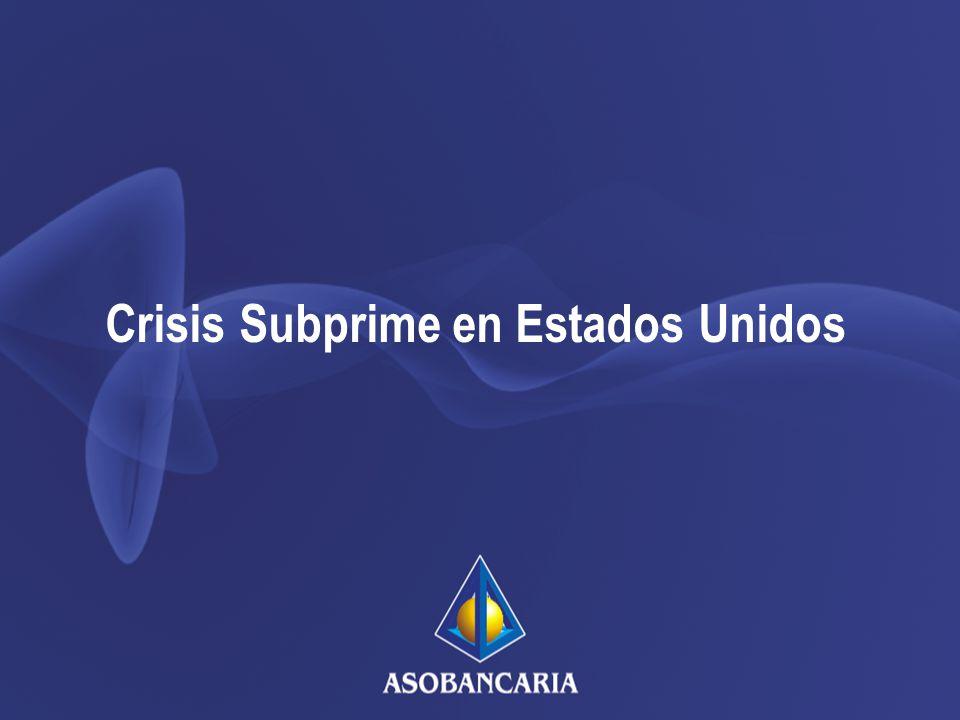 Crisis Subprime en Estados Unidos