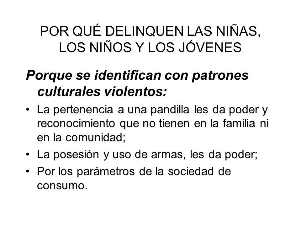 SISTEMA DE RESPONSABILIDAD PENAL PARA ADOLESCENTES.
