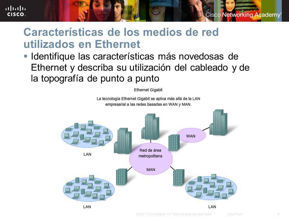 26© 2007 Cisco Systems, Inc. Todos los derechos reservados.Cisco Public Resumen