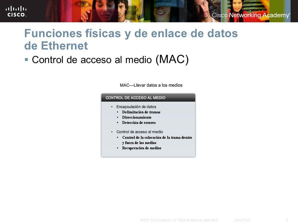 20© 2007 Cisco Systems, Inc.