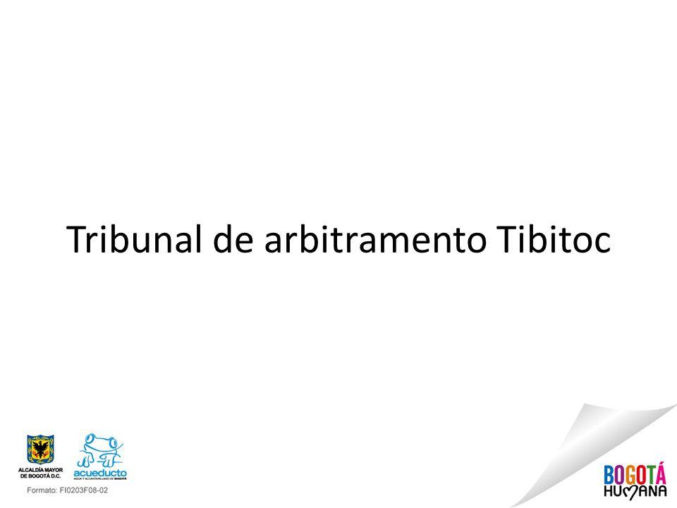 Tribunal de arbitramento Tibitoc