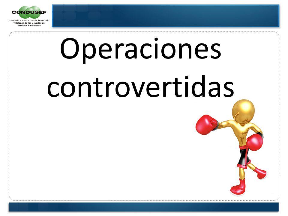 Operaciones controvertidas