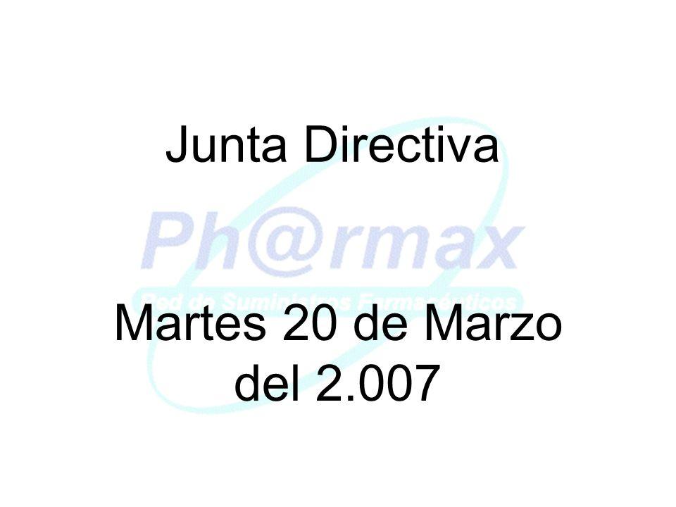Junta Directiva Martes 20 de Marzo del 2.007