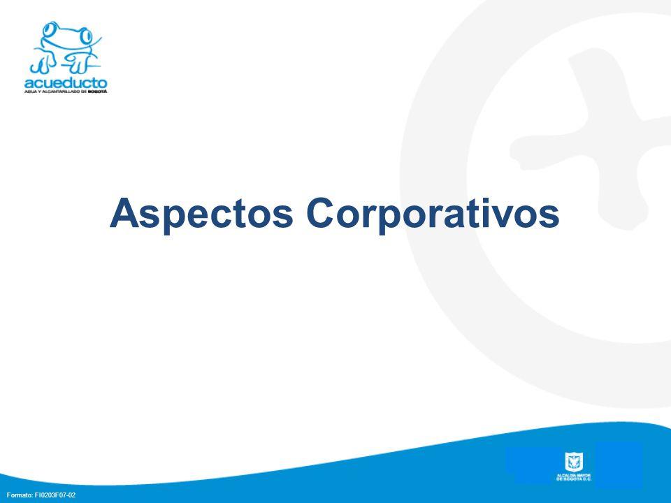 Formato: FI0203F07-02 Aspectos Corporativos
