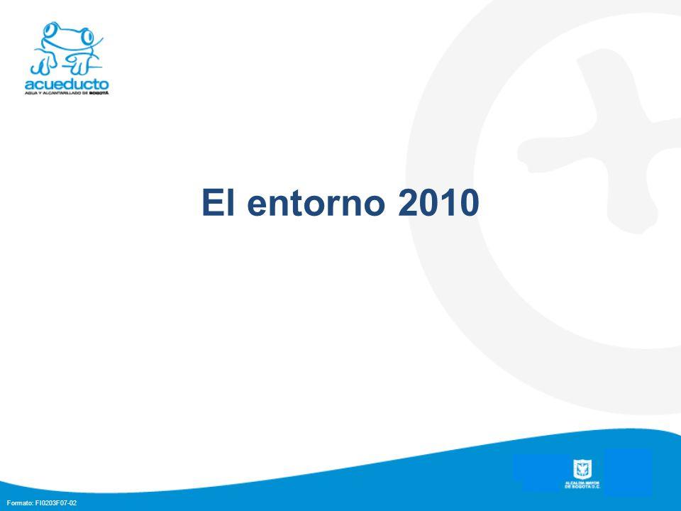 Formato: FI0203F07-02 El entorno 2010