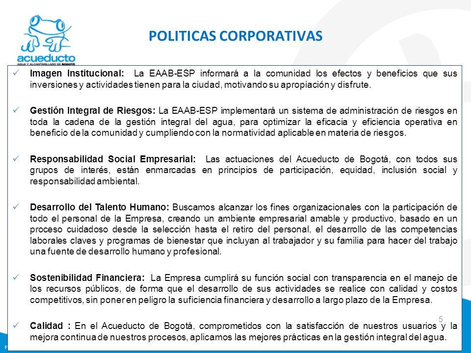 Formato: FI0203F07-02 Imagen Institucional: La EAAB-ESP informará a la comunidad los efectos y beneficios que sus inversiones y actividades tienen par
