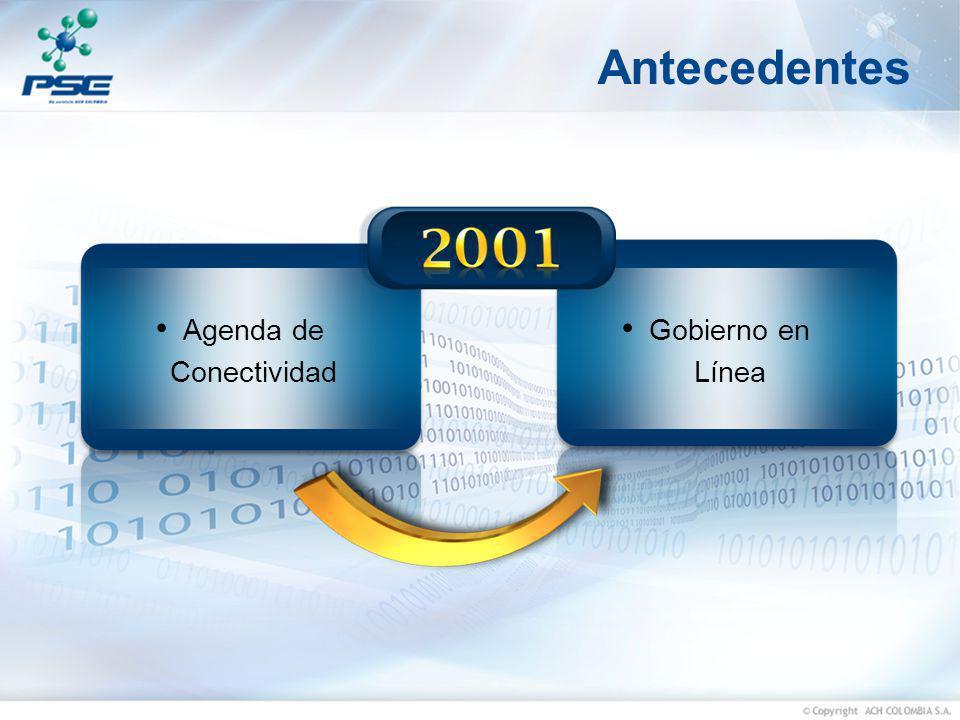 Objetivo Construir una plataforma que le permita a los colombianos realizar pagos a las entidades públicas a través de medios electrónicos por concepto de los trámites y servicios que éstas ofrecen y de igual manera ofrecerle este servicio al sector privado interesado en e-commerce