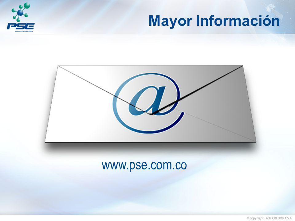 Mayor Información www.pse.com.co