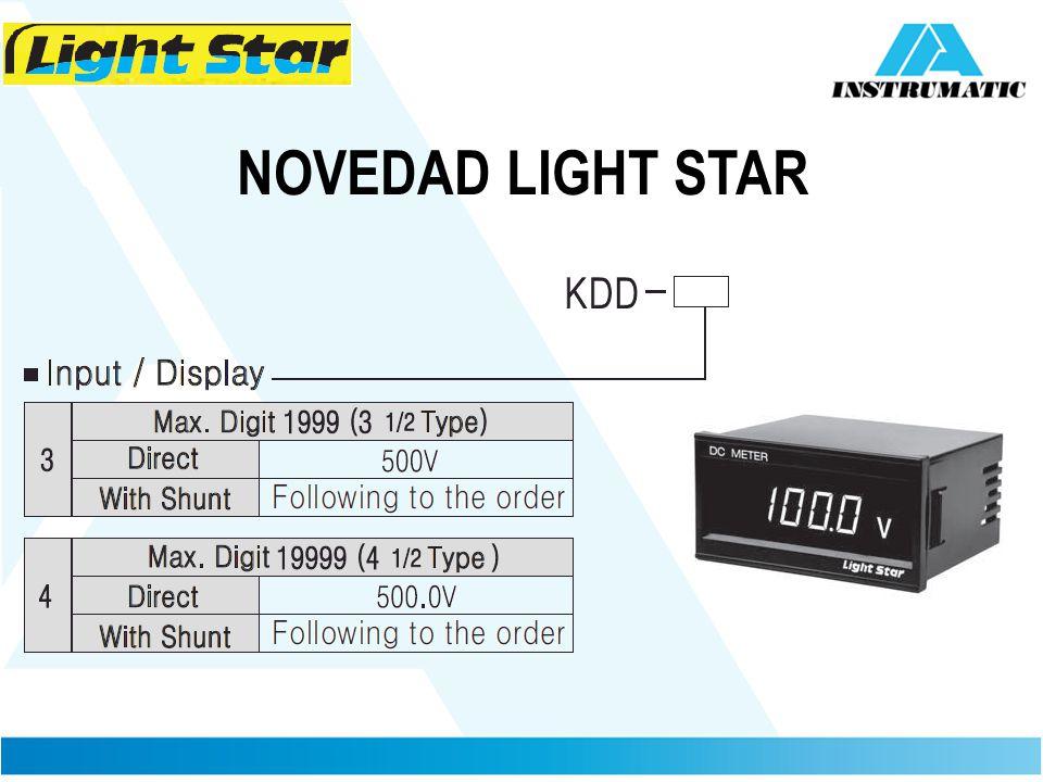 NOVEDAD LIGHT STAR