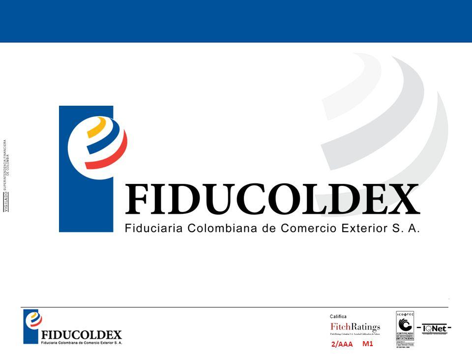 M1 2/AAA Califica La Fiduciaria Colombiana de Comercio Exterior S.A.