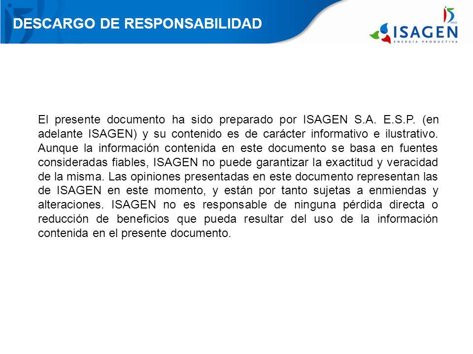 AVANCE CONTRATACIÓN – Equipos PROYECTO SOGAMOSO TURBINAS ANDRITZ GENERADORES $26.134.002.800 + US$63.233.860 Valor del contrato TOSHIBA - MITSUI TRANSFORMADORES Y CABLES DE ALTA TENSION (230 Kv) PUENTE GRUA JBIC – BANK OF TOKIO (NEXI) Valor del contrato $35.492.249.663 + US$65.961.962 BANCO SANTANDER (EULER HERMES) Valor del contrato SIEMENS Valor del contrato IMOCOM (TAIM WESER) $15.038.157.635 + US$22.315.597 US$7.722.556 LEASING BANCOLOMBIA LEASING HELM BANK