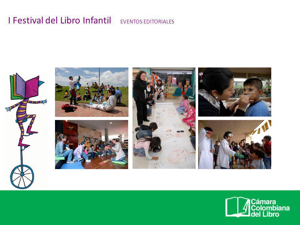 EVENTOS EN ESPACIO PÚBLICO II Festival del Libro Infantil PROGRAMACIÓN INSTITUCIONAL