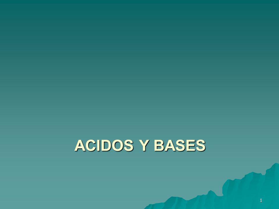 ACIDOS Y BASES 1