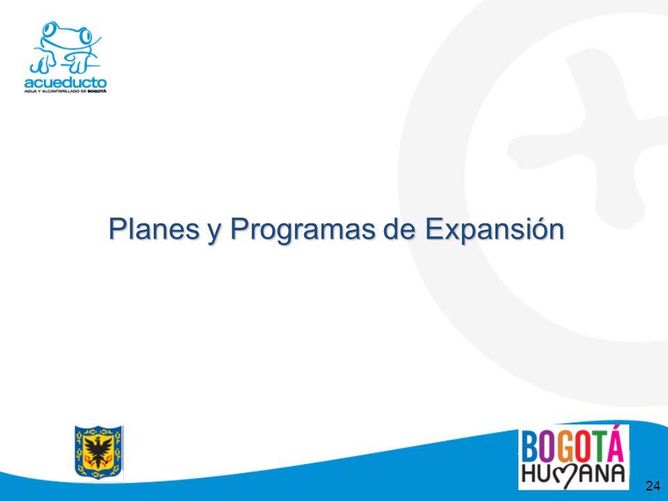 24 Planes y Programas de Expansión